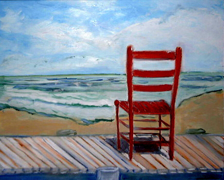 red-chair-on-deck