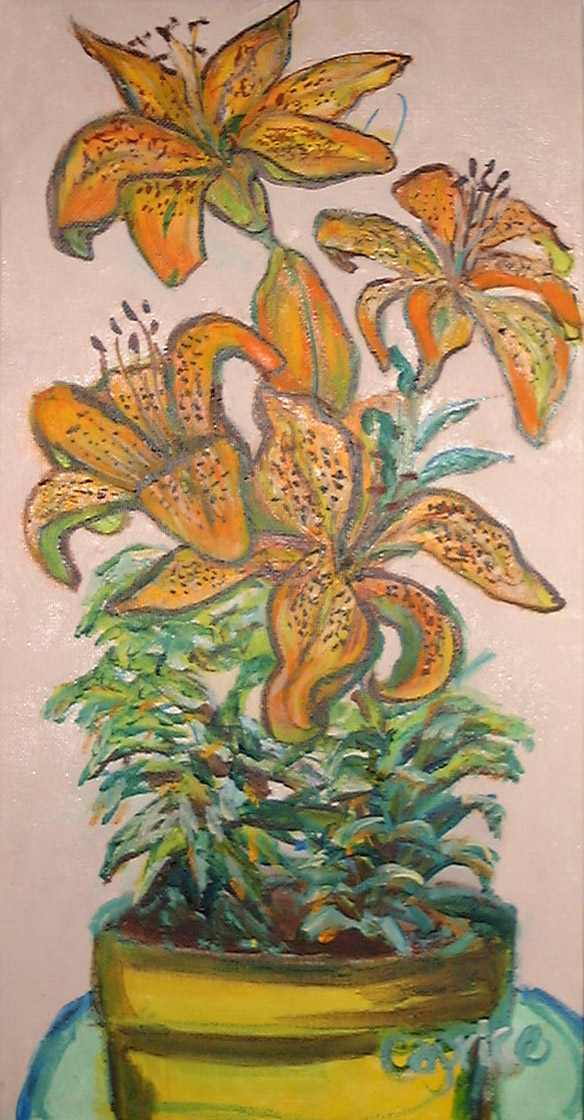 tiger-lilies