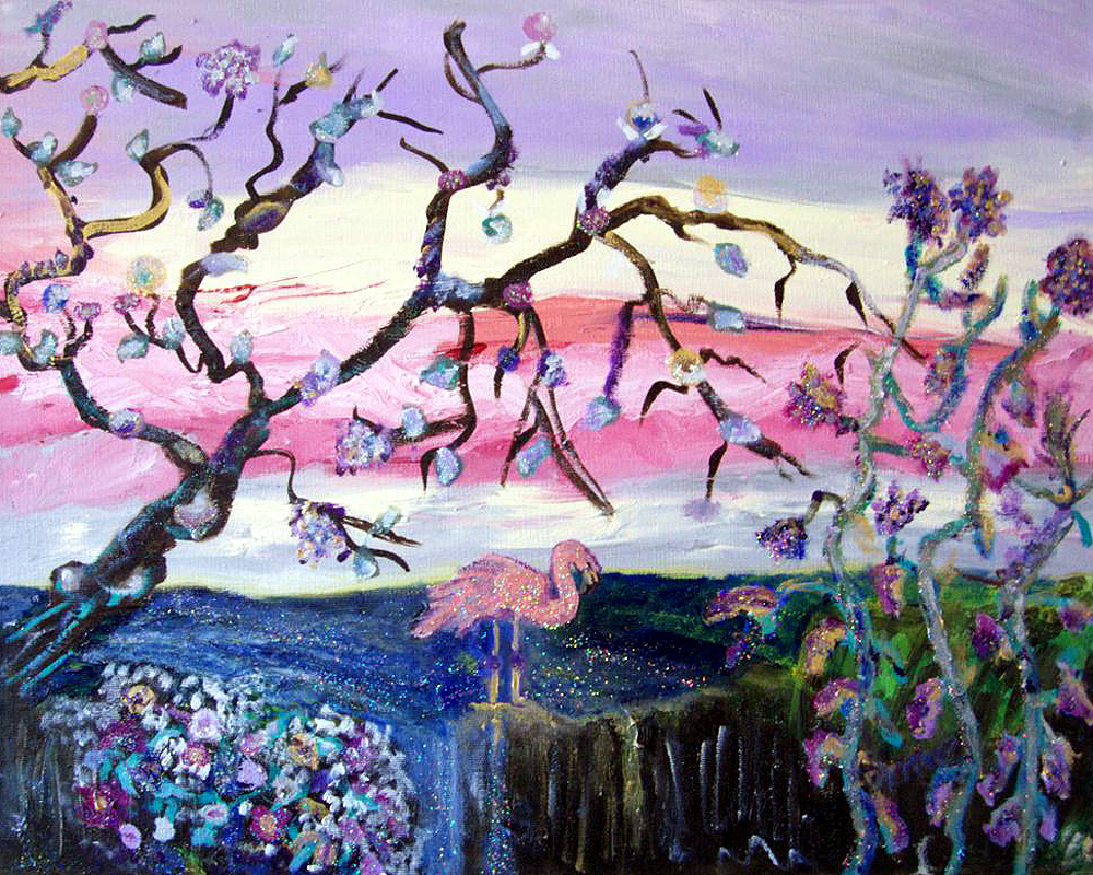 flamingo-forest
