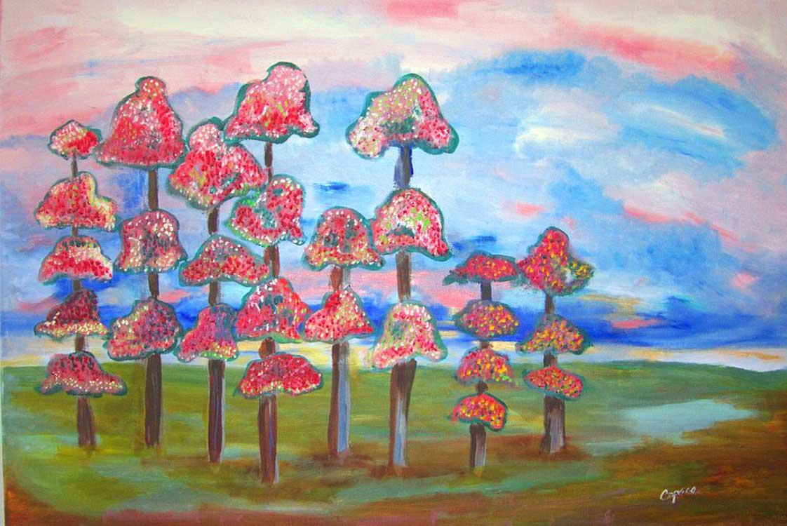 strawberry-trees